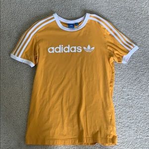 FIRM PRICE Adidas Yellow Athletic Tee